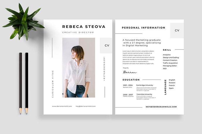 Resume / CV Vol 20