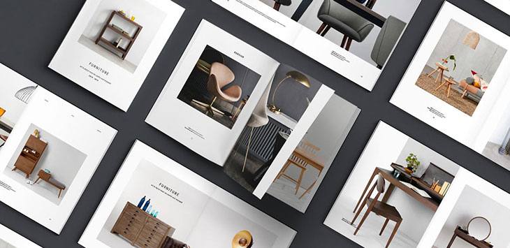 25 Best Interior & Furniture Catalog Templates