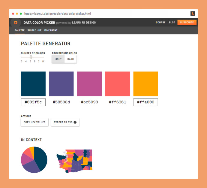 Data Color Picker
