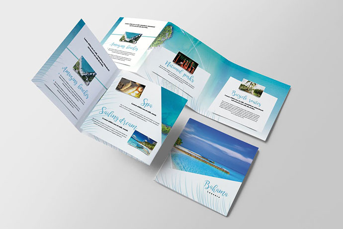 Travel Tropical Brochure