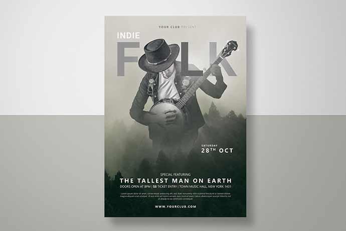 Folk Fest Flyer
