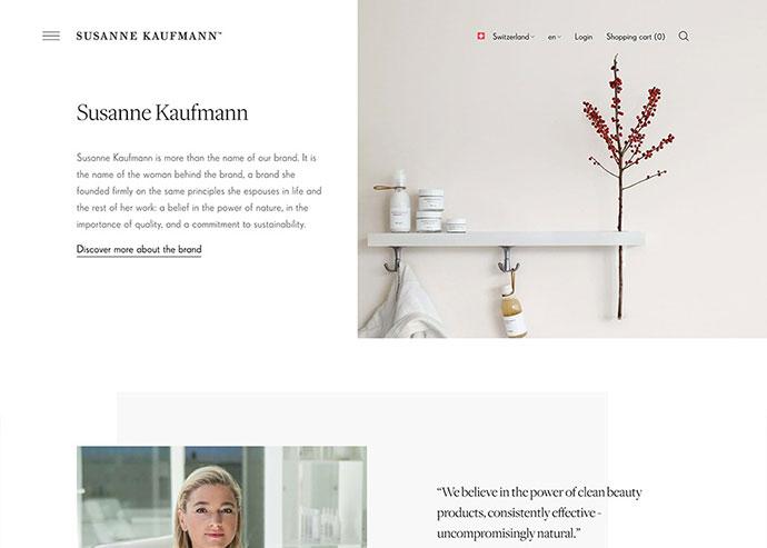 Susanne Kaufmann Cosmetics