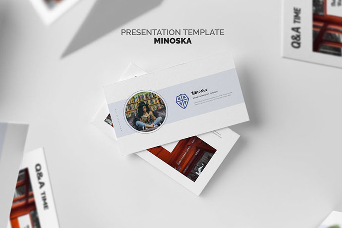Minoska School, College & Education Powerpoint