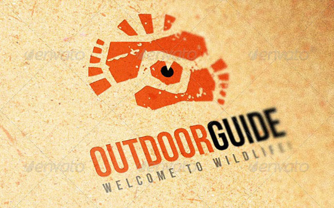 Outdoor Guide Creative Logo Template