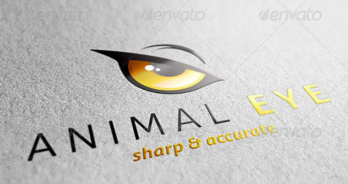 Animal Eye Logo