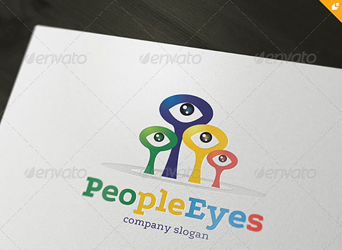 People Eyes Logo