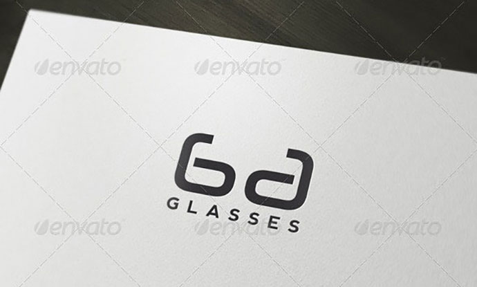 Glasses - Lenses Logo