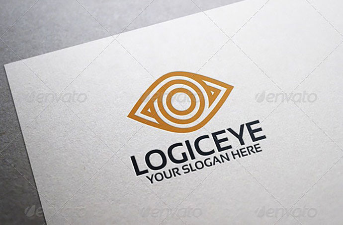 Logic Eye Logo Template