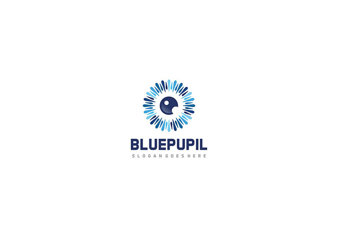 Blue Pupil Logo