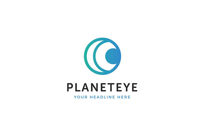 Planet Eye Logo Template