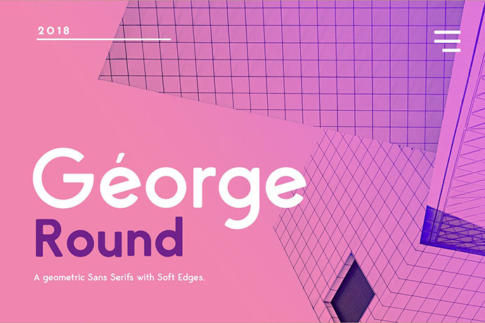 George Rounded Sans Serif