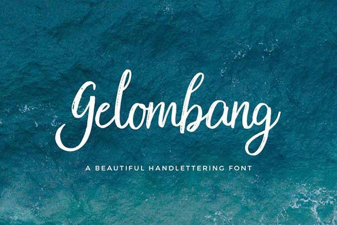 Gelombang Font