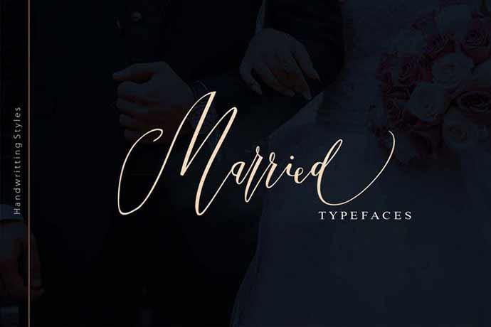 Married Typeface