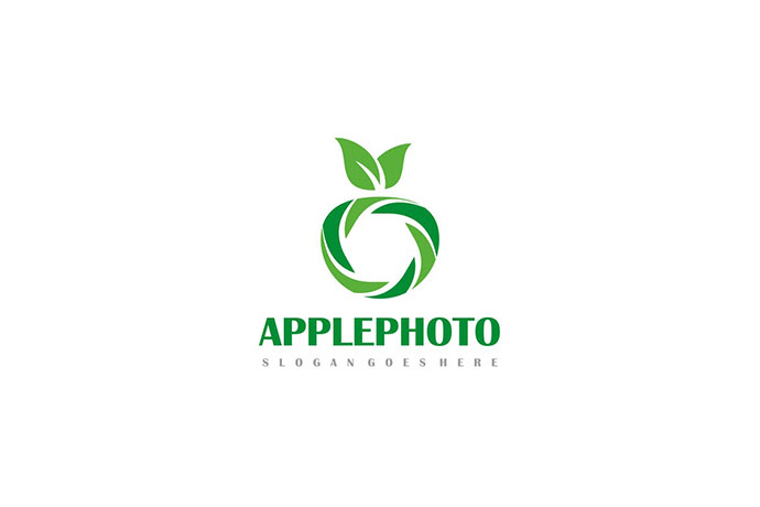 Apple Photography Logo