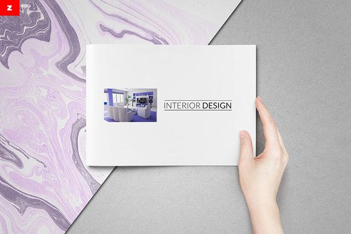 Minimal Catalog Brochure