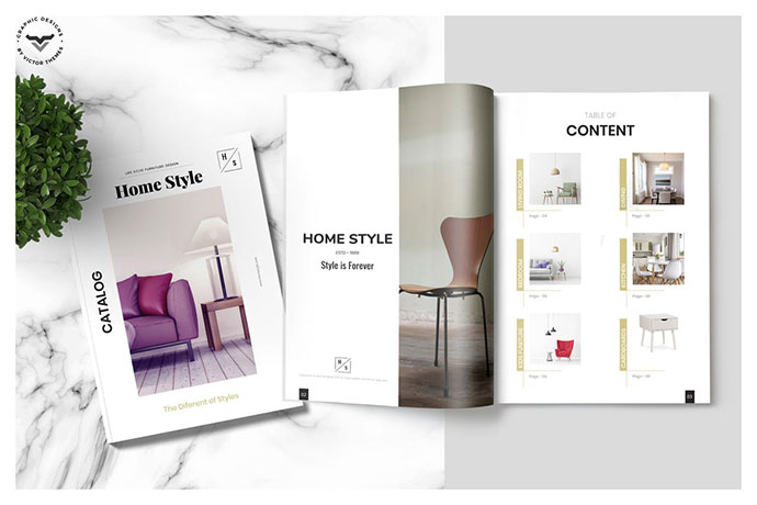 Furniture Brochure Catalogue Template