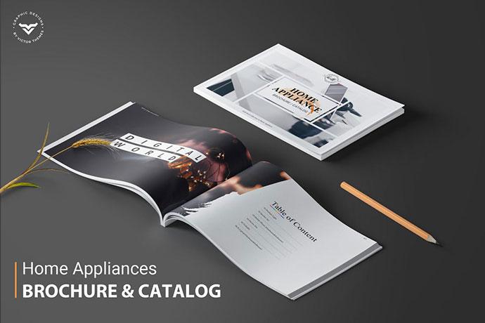 Home Appliances Brochure Catalogue Template