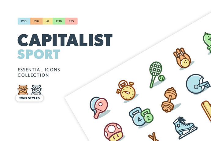 Capitalist Icons: Sports and Games