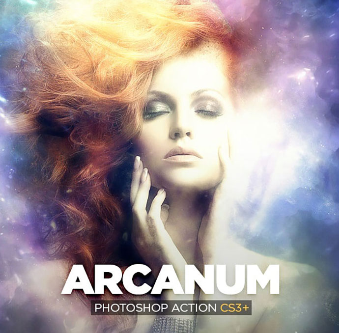 Arcanum Photoshop Action CS3+