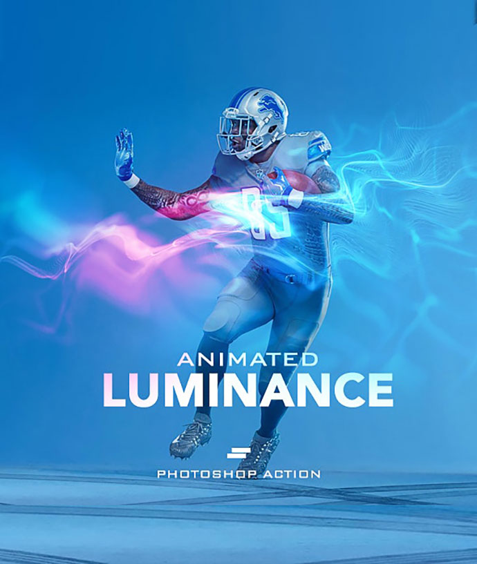 Gif Animated Luminance Photoshop Action