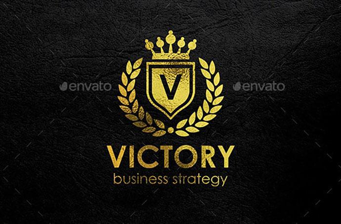 Victory - Heraldic Elegant Logo Crest Multipurpose Logo