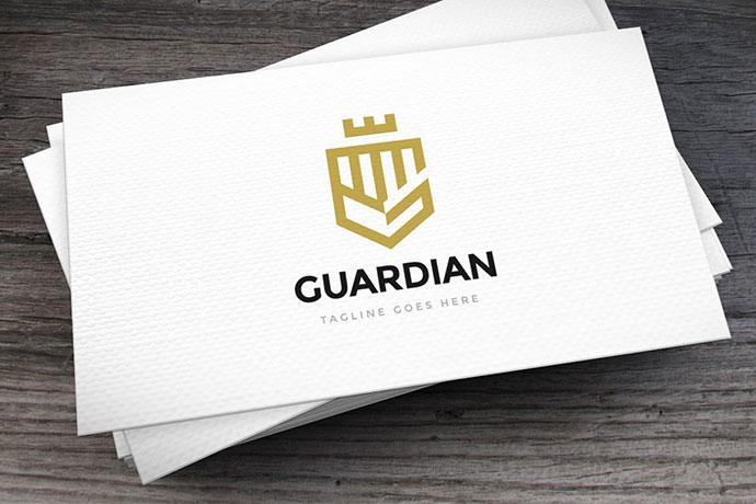 Guardian Logo Template