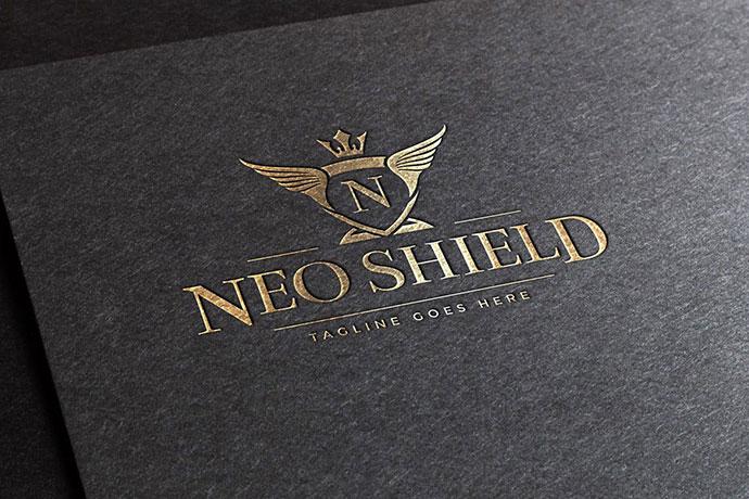 Neo Shield Logo Template