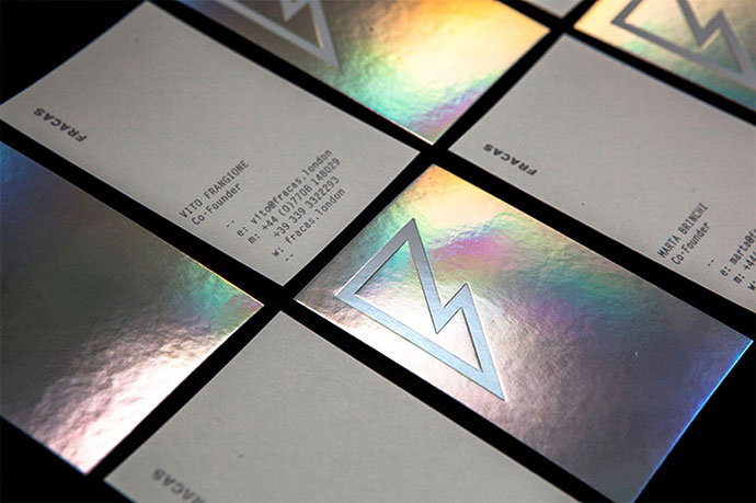 Fracas Productions | Business Cards