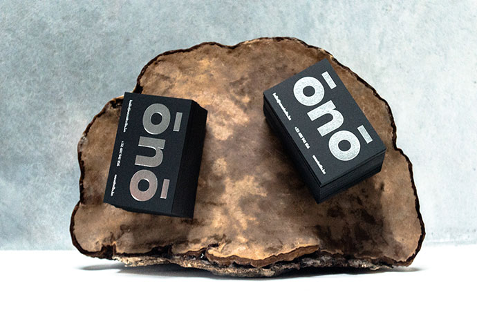 oNo Studio - Business Cards
