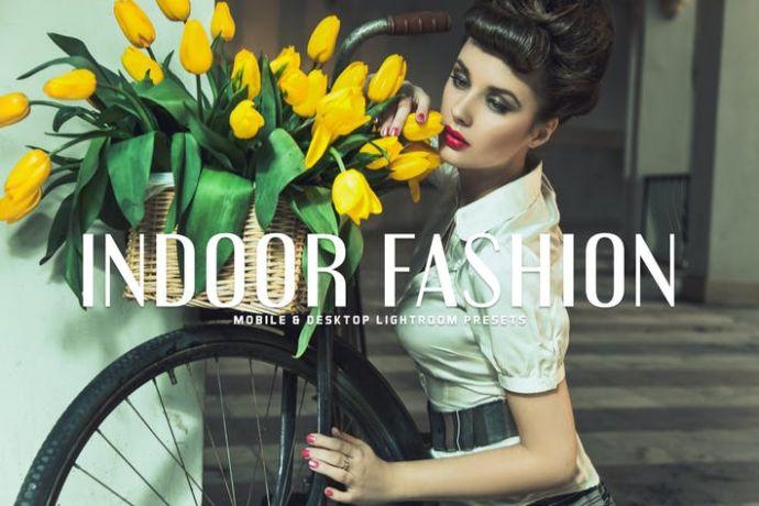 Indoor Fashion Mobile & Desktop Lightroom Preset
