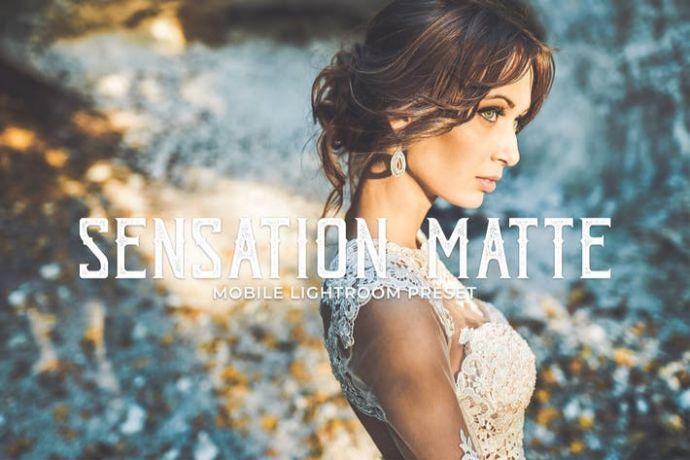 Sensation Matte Mobile Lightroom Presets