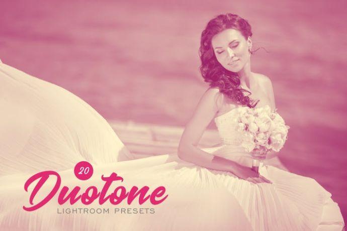 20 Duotone Lightroom Presets