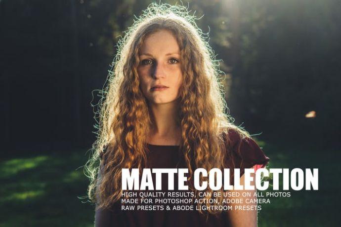 Matte Tone Collection Lightroom Presets