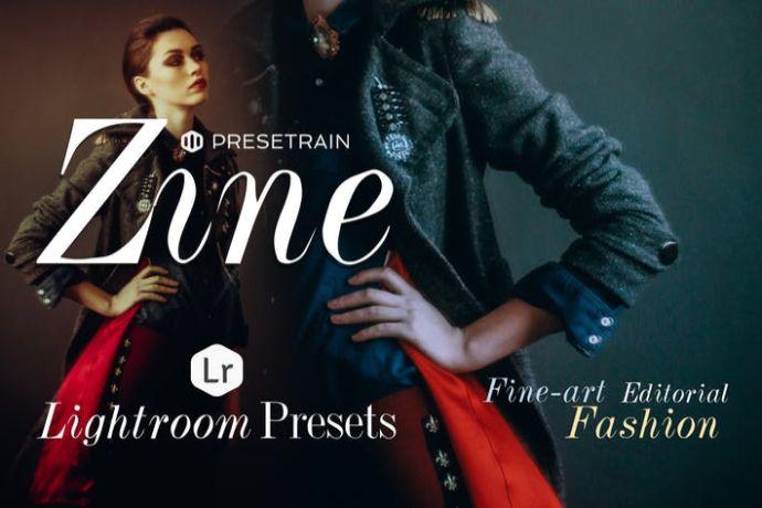 Zine Fashion Lightroom Presets
