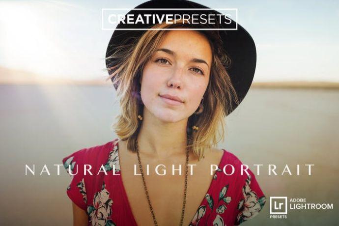 Natural Light Portrait - Lightroom Presets