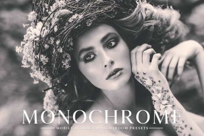 Monochrome Mobile & Desktop Lightroom Presets