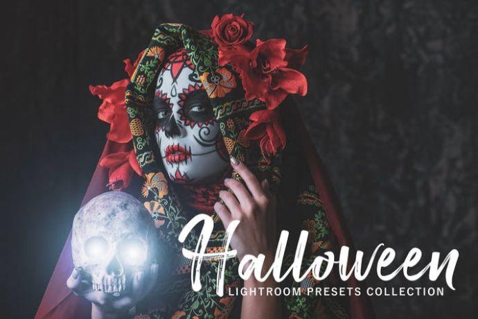 Halloween Lightroom Presets Pack