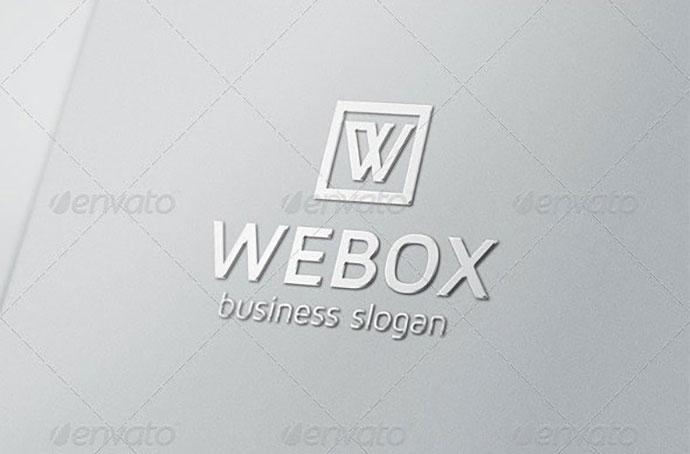 Webox W Logo
