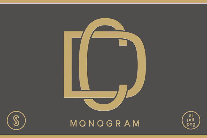 CD Monogram DC Monogram