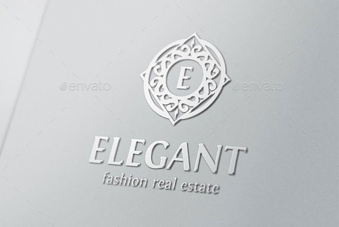 Elegant Boutique Logo Badges Monogram