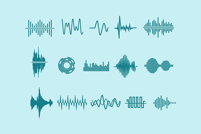 15 Audio Waveform Icons