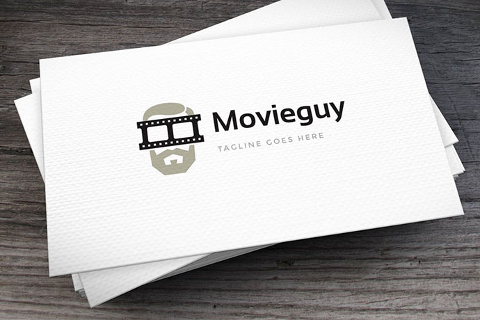 Movie Guy Logo Template