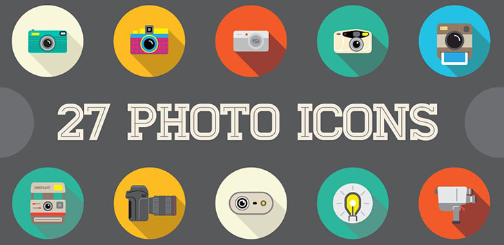 25 Awesome Photography Icon Sets