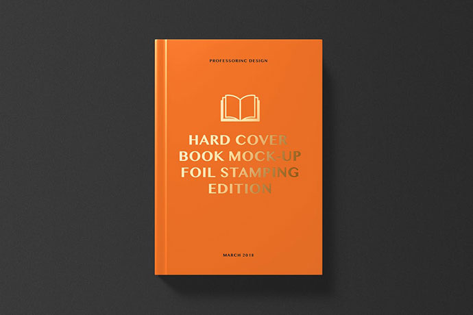 Hard Cover Book Mockup