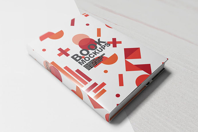 Hard Cover Book Mockups