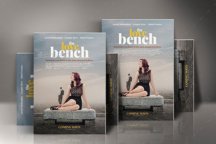Romance Movie Poster Template