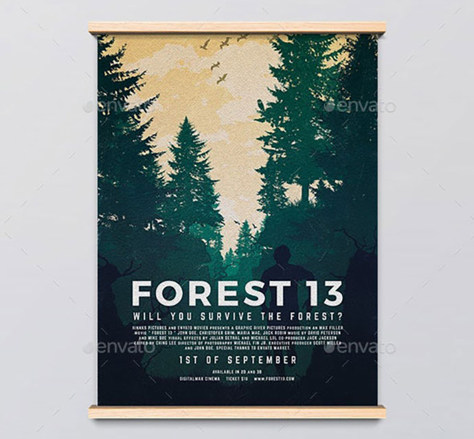 Forest 13 Movie Poster