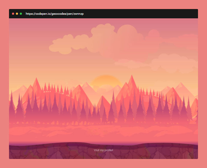 CSS Parallax Scrolling