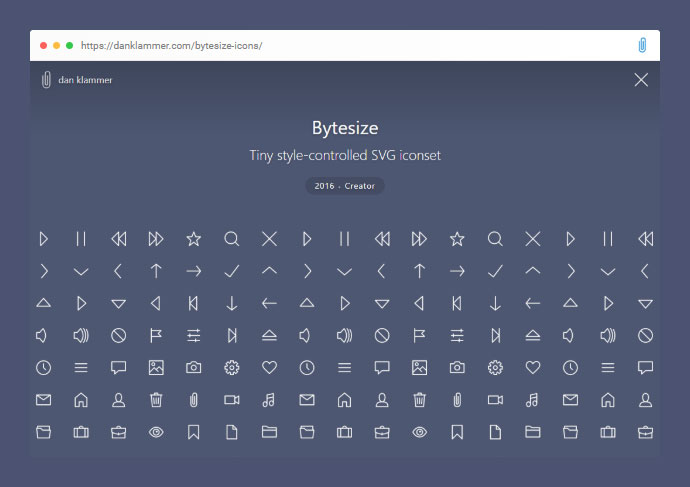 React Bytesize Icons