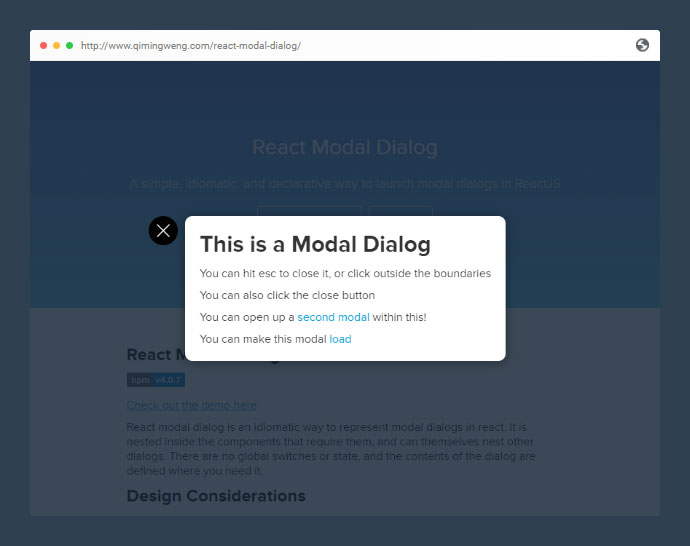 15 Cool React Modal Component Libraries – Bashooka